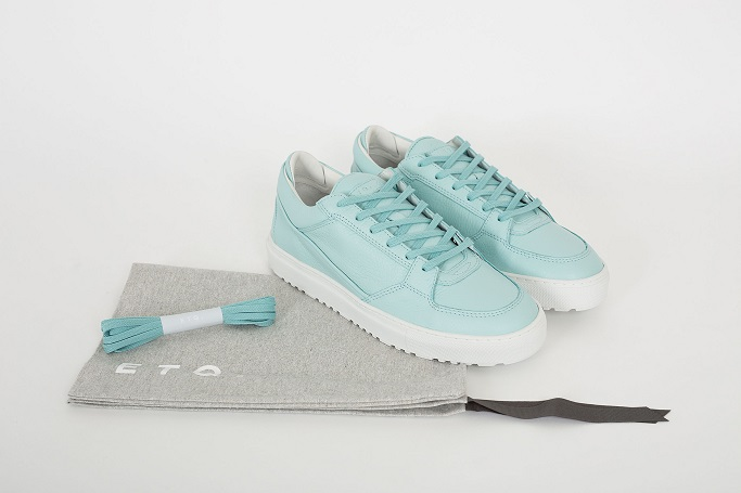 ETQ Amsterdam Low 3 Aqua Trainers Photo