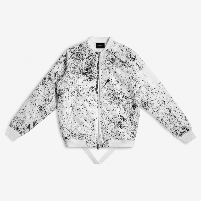 Stampd Granite Tech Bomber Jacket Photo