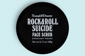 Triumph & Disaster Rock & Roll Suicide Volcanic Ash & Green Clay Face Scrub Photo
